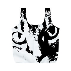 Cat Full Print Recycle Bags (M)