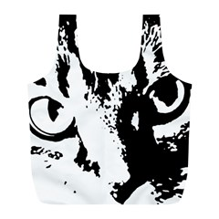 Cat Full Print Recycle Bags (L)