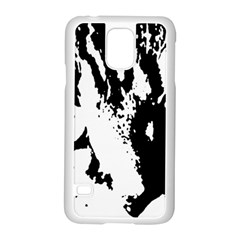 Cat Samsung Galaxy S5 Case (White)
