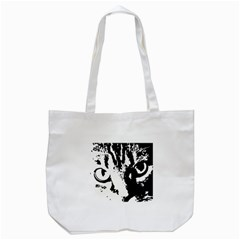 Cat Tote Bag (White)