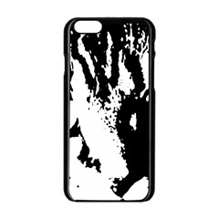 Cat Apple iPhone 6/6S Black Enamel Case
