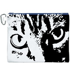 Cat Canvas Cosmetic Bag (XXXL)