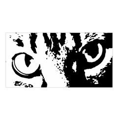 Cat Satin Shawl