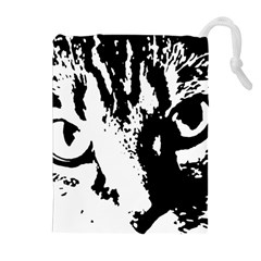 Cat Drawstring Pouches (Extra Large)
