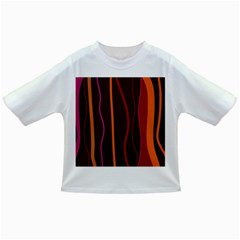 Colorful Striped Background Infant/Toddler T-Shirts