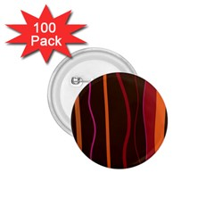 Colorful Striped Background 1.75  Buttons (100 pack)