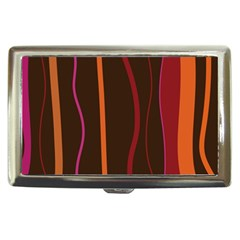 Colorful Striped Background Cigarette Money Cases