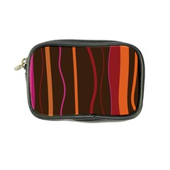 Colorful Striped Background Coin Purse