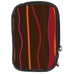 Colorful Striped Background Compact Camera Cases