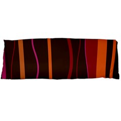 Colorful Striped Background Body Pillow Case Dakimakura (Two Sides)