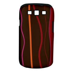 Colorful Striped Background Samsung Galaxy S III Classic Hardshell Case (PC+Silicone)