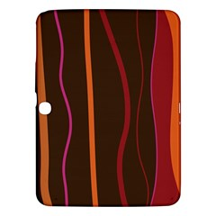 Colorful Striped Background Samsung Galaxy Tab 3 (10.1 ) P5200 Hardshell Case