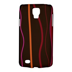 Colorful Striped Background Galaxy S4 Active