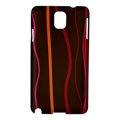 Colorful Striped Background Samsung Galaxy Note 3 N9005 Hardshell Case