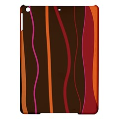 Colorful Striped Background iPad Air Hardshell Cases