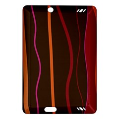 Colorful Striped Background Amazon Kindle Fire HD (2013) Hardshell Case
