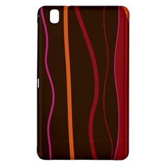 Colorful Striped Background Samsung Galaxy Tab Pro 8.4 Hardshell Case