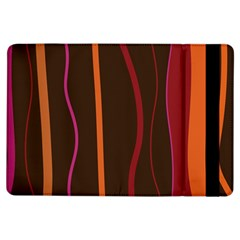 Colorful Striped Background iPad Air Flip