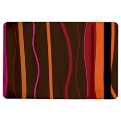 Colorful Striped Background iPad Air 2 Flip