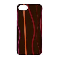 Colorful Striped Background Apple iPhone 7 Hardshell Case