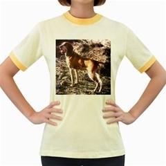 Bracco Italiano Full 2 Women s Fitted Ringer T-Shirts