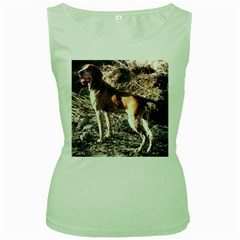 Bracco Italiano Full 2 Women s Green Tank Top