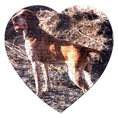 Bracco Italiano Full 2 Jigsaw Puzzle (Heart)