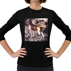 Bracco Italiano Full 2 Women s Long Sleeve Dark T-Shirts