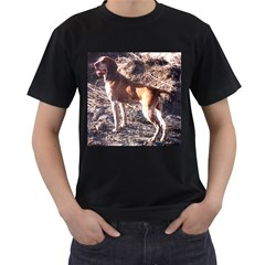 Bracco Italiano Full 2 Men s T-Shirt (Black)