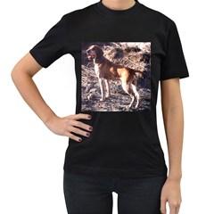 Bracco Italiano Full 2 Women s T-Shirt (Black)