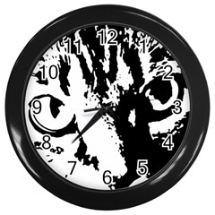 Lion  Wall Clocks (Black)