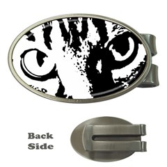 Lion  Money Clips (Oval)