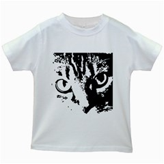 Lion  Kids White T-Shirts