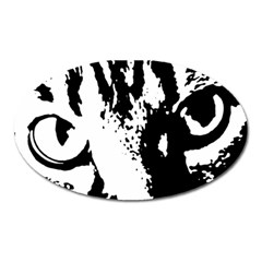 Lion  Oval Magnet