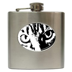 Lion  Hip Flask (6 oz)