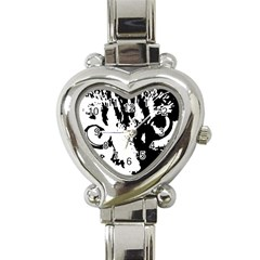 Lion  Heart Italian Charm Watch