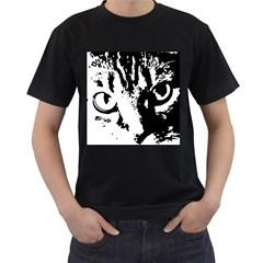 Lion  Men s T-Shirt (Black)