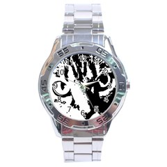 Lion  Stainless Steel Analogue Watch