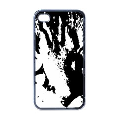 Lion  Apple iPhone 4 Case (Black)