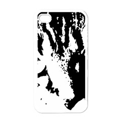 Lion  Apple iPhone 4 Case (White)