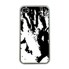Lion  Apple iPhone 4 Case (Clear)