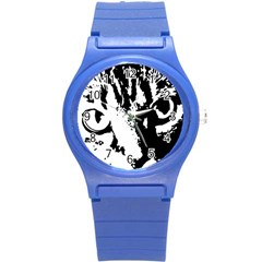 Lion  Round Plastic Sport Watch (S)