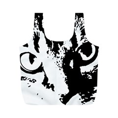 Lion  Full Print Recycle Bags (M)