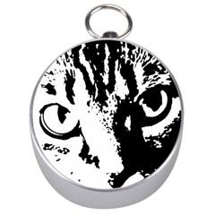 Lion  Silver Compasses