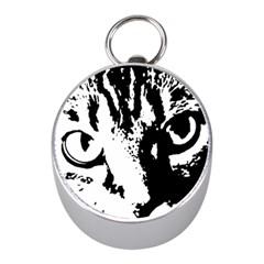 Lion  Mini Silver Compasses