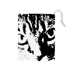 Lion  Drawstring Pouches (Medium)