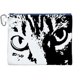 Lion  Canvas Cosmetic Bag (XXXL)