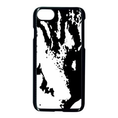 Lion  Apple iPhone 7 Seamless Case (Black)