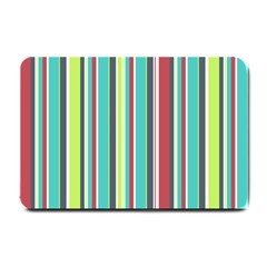 Colorful Striped Background. Small Doormat