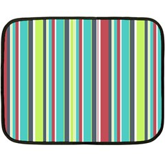 Colorful Striped Background. Fleece Blanket (Mini)